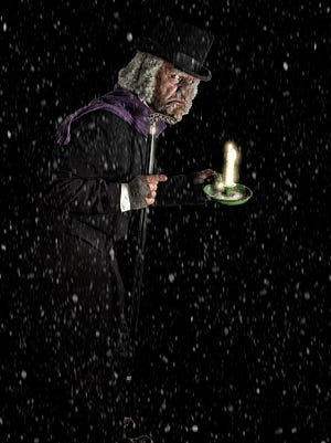 Mr. Scrooge from 'A Christmas Carol' illustration
