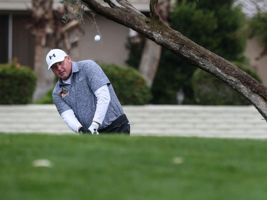 Roger Clemens on 3 at La Quinta Country Club during