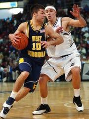 McQuaid's Tyler Relph, left, shown playing as a freshman