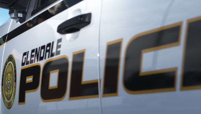 A man who barricaded himself inside a Glendale home after bullets struck a neighbor's residence surrendered just after 4 p.m.on Wednesday, the Glendale Police Department said.