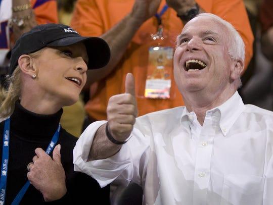 Republican presidential candidate Sen. John McCain