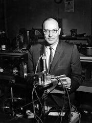 University of Wisconsin-Madison graduate John Bardeen helped invent the transistor 70 years ago.