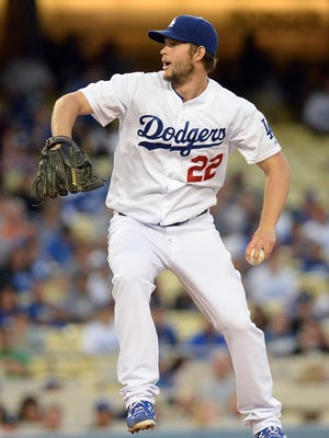 Clayton Kershaw struck out 12 in six innings.