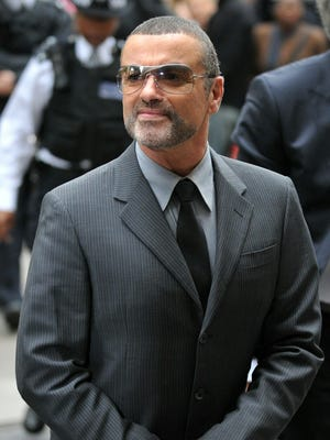 George Michael, pictured here in September 2010, died over the Christmas holiday, his publicist confirms.