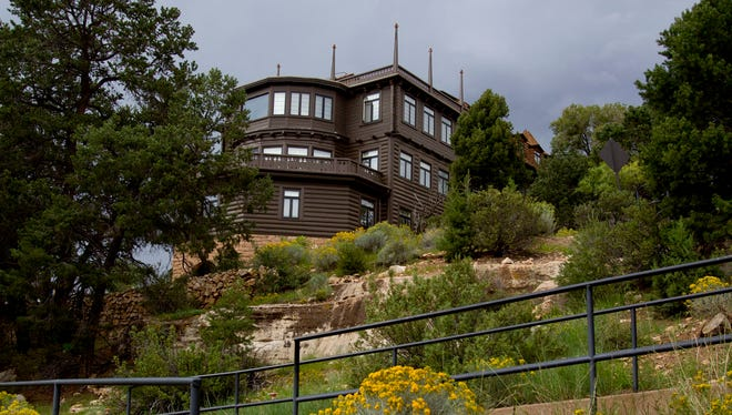 The El Tovar Lodge on the Grand Canyon's South Rim.