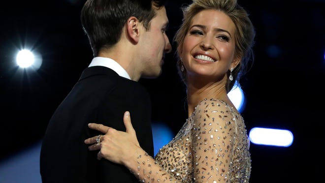 Ivanka Trump's glamorous style and beautiful clothing choices during the inauguration festivities wowed avid Washington social-watchers.