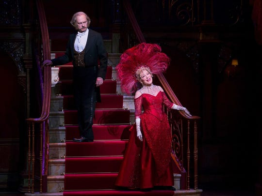 "David Hyde Pierce and Bette Midler both received Tony nominations for ""Hello, Dolly!"""