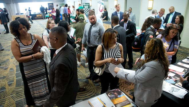 Employers have been posting more jobs in recent months, and job fairs have been busy.