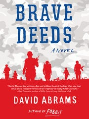 "David Abrams of Butte will read from his novel, ""Brave Deeds,"" as part of April's Great Falls Festival of the Book."