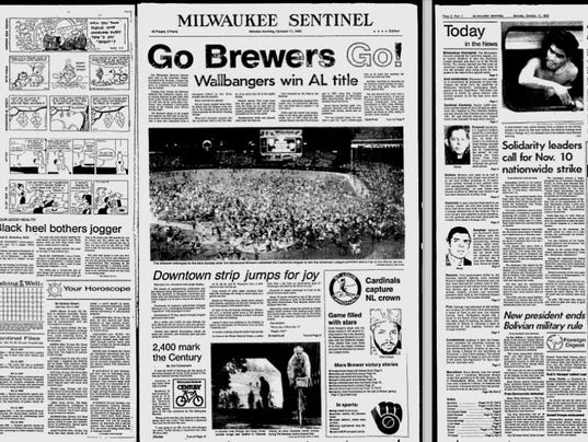 Milwaukee Journal And Sentinel Newspaper Archives Are Back On The Web