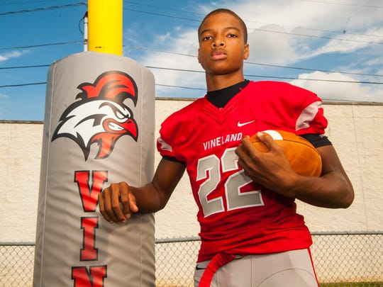 Vineland's Tyreem Powell will be attending and playing football at Virginia Tech in 2020.