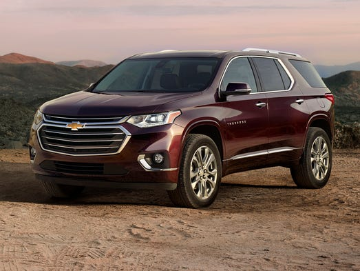 Chevy Casts Net For New Traverse Suv Buyers