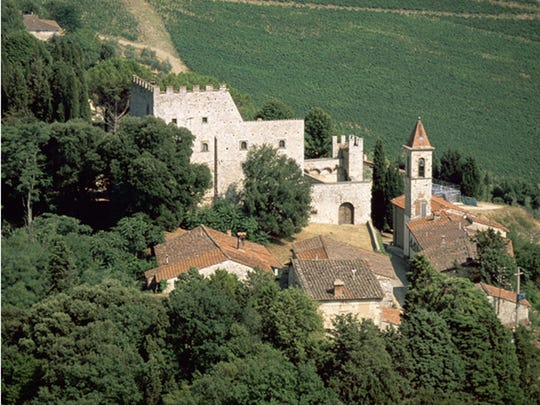 The castle of Nipozzano is the most celebrated and historic property of the Frescobaldi family.