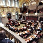 NY lawmakers return as sales-tax battle lingers