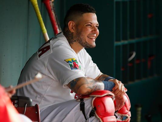 Yadier Molina rehabs in Springfield