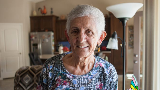Helen Olsen discusses fleeing communist Hungary in her early life, and what challenges she has had to overcome as she rebuilt her life in the United States Saturday, Oct. 24, 2015.