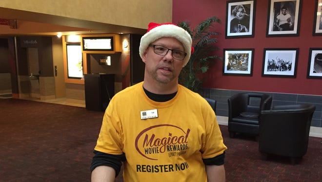 "Tim ""T-Bird"" Doherty has one of the longest tenures of Marcus Parkwood Cinema employees."