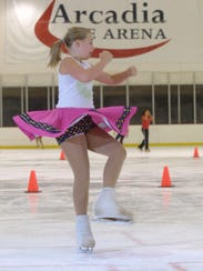 40. Glide on the ice | Ice-skating rinks in the desert
