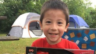Nathaniel Medina, 3, died just a day after his birthday in a car incident in Pewaukee.