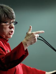 Securities and Exchange Commission Chair Mary Jo White.