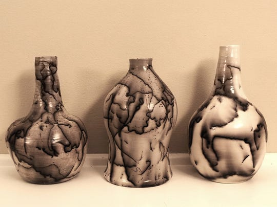 Ceramic works by Crissy Hodges-Chakrani will be for sale at the Saturday, Oct. 1, We Are All One Art Fair, in East Lansing.