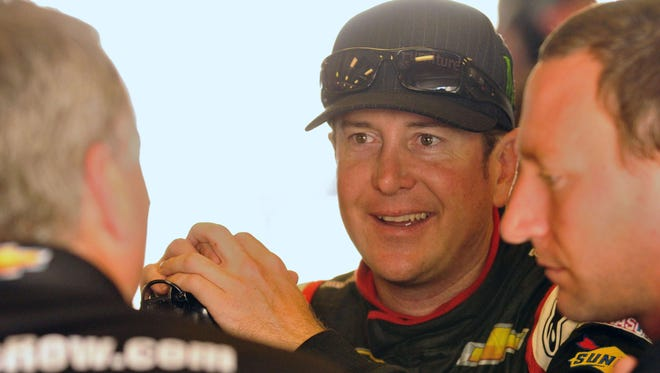 Kurt Busch had a quick car in NASCAR's Sprint Cup Series race at Indianapolis Motor Speedway. Now, he wants to try an Indy car at the track.