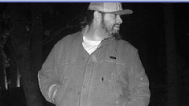 Evesham police are seeking the public's help in identifying this man, suspected of stealing from a homeowner's shed.