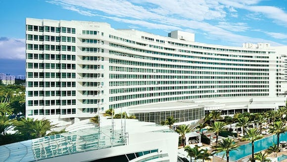The Fontainebleau Miami Beach will have a performance