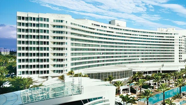 The Fontainebleau Miami Beach will have a performance by Demi Lovato and KYGO New Year's Eve.