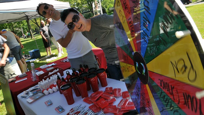The third annual Mansfield Pride Festival is Saturday in Central Park.