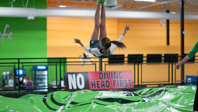 Rockin' Jump has trampoline parks across the nation.