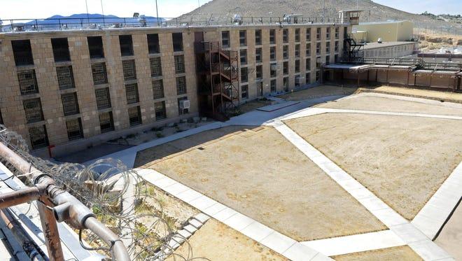 The Nevada State Prison in Carson City.