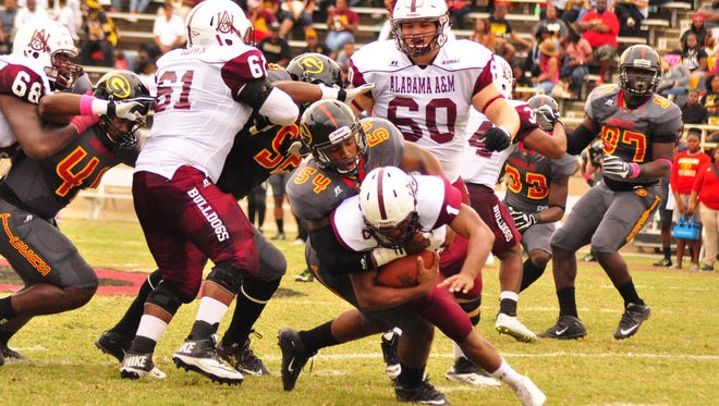 Grambling's defense held Alabama A&M to just 14 points and 300 total yards in Saturday's win
