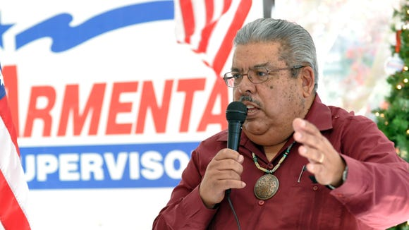 At a press conference on Monday in Salinas, District 1 Supervisor Fernando Armenta announced that he will be running for reelection.