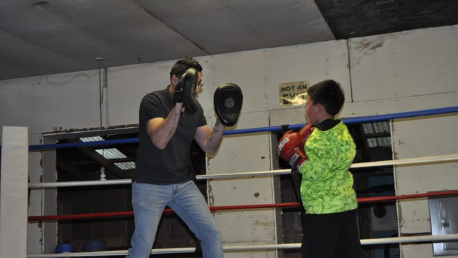 The club will host an enchilada dinner ($8) at 2 p.m. Saturday at the First Baptist Church of Ruidoso Downs, 26363 US-70, Ruidoso Downs. All proceeds will benefit the club and its boxers.