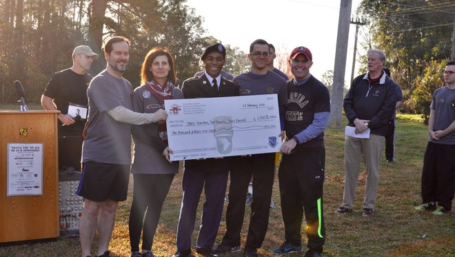 The money raised from the race goes to a scholarship fund for FSU ROTC cadets.