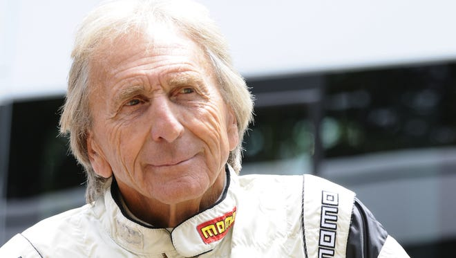 Derek Bell, shown at the Goodwood Festival in England in 2014, is among those scheduled to attend a reception at Watkins Glen International to commemorate the repaving of the road course.