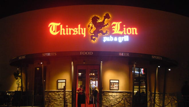 Tempe Marketplace's Thirsty Lion Pub. Another is set to open in Gilbert in early May.