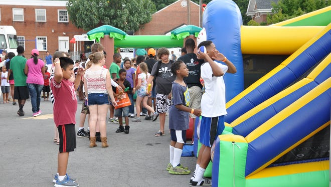 Children can enjoy all sorts of games and activities at the Family Fun Fest at Living Truth Christian Center, set for 4-8 p.m. Saturday.