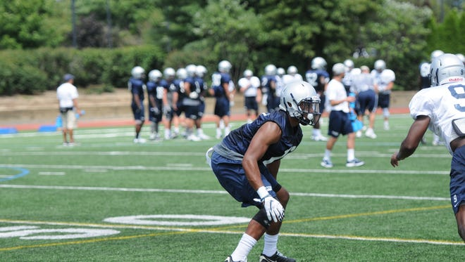 Anthony Smith, a Penn State transfer, is in line to start at one cornerback spot when Monmouth University opens its season on Sept. 3 at Lehigh
