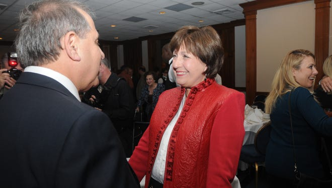 Former Gov. Kathleen Blanco attends the 2009 Civic Cup, where Dr. Paul  Azar received the award.