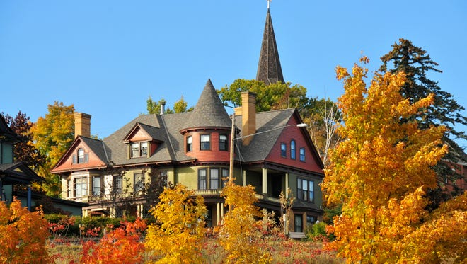 The Old Rittenhouse Inn features lodging nad dining in a historic Queen Anne mansion in Bayfield.