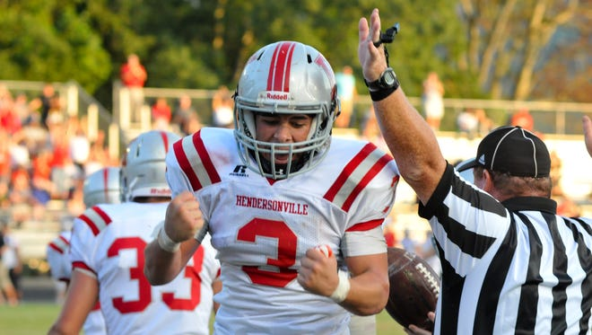 Jhon Salguero and Hendersonville are home for Friday's football game against Reynolds.