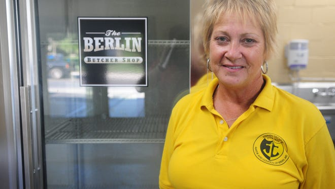 Candidate for Berlin mayor Lisa Hall