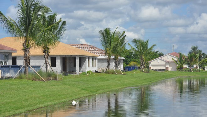 Sunset Point is a new DR Horton community just starting to be built in Cape Coral.