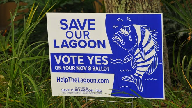 Save Our Lagoon signs appeared this fall around the county in support of lagoon sales tax on the Nov. 8 ballot.