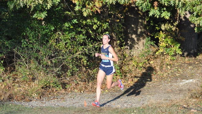 Our Lady of Lourdes cross county runner Caroline Timm won the Northern Counties Championship on Oct. 28, 2016.