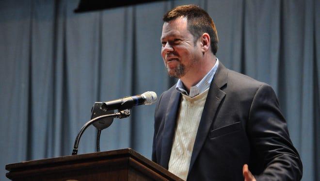 Buckeye High School Principal Dewayne Vines is the Rapides Parish School District's High School Principal of the Year.