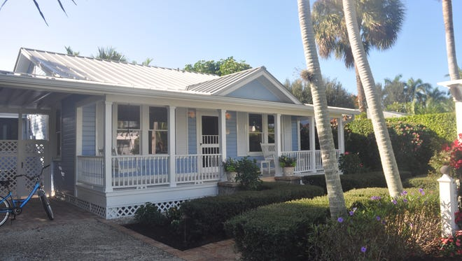 This small cottage on 7th Avenue South gives people a glimpse of what homes in Naples looked like more than 80 years ago.