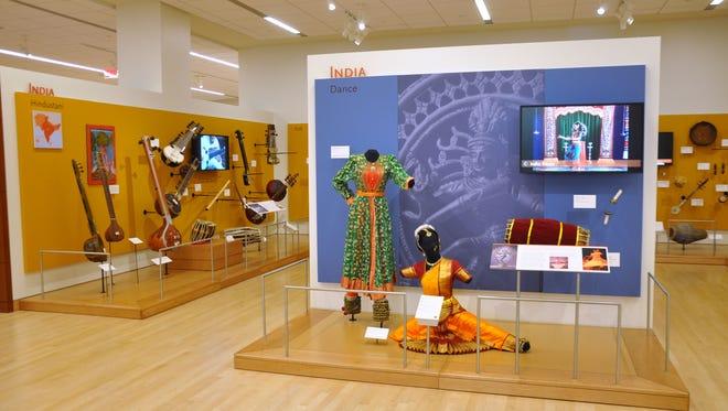 Musical Instrument MuseumThe India exhibit inside the Asia gallery at Musical Instrument Museum.The India exhibit inside the Asia gallery at Musical Instrument Museum.